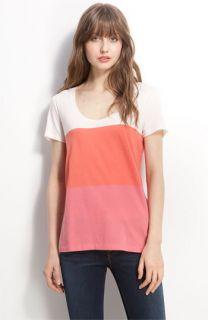 Caslon® Short Sleeve Colorblock Jersey Tee