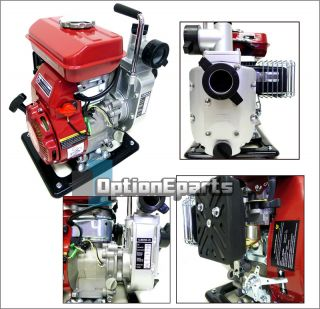 5HP Gasoline Water Pump 1.5 NPT Commercial Trash Water Pump