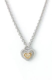 Judith Ripka La Petite Heart Pendant Necklace