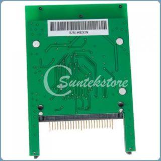 cf compact flash to sata hdd hard disk drive adapter