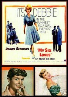 My Six Loves 1963 DVD Debbie Reynolds Cliff Robertson