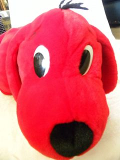 Clifford The Big Red Dog Plush That Barks