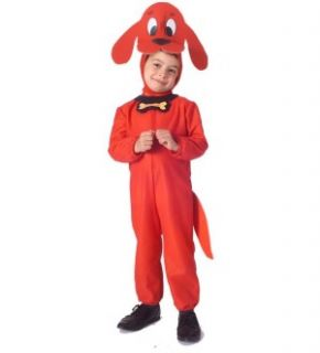 Clifford The Big Red Dog Costume Toddler *New*