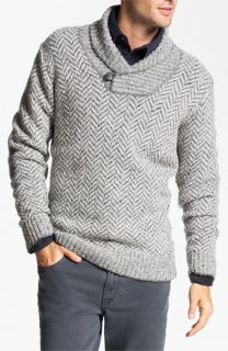 Fiesole Shawl Collar Wool Blend Sweater