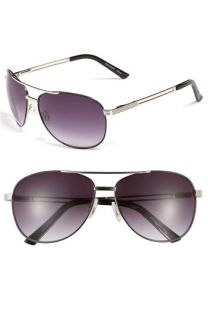 Vince Camuto Metal Aviator Sunglasses