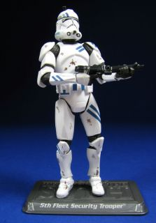 Star Wars Saga Collection 59 Fifth Fleet Security Clone Trooper