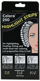 Colora Hair Coloring Highlight Strips 4 x 7 1 Pack