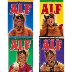 ALF Complete Series Collection Seasons 1 4 Brand New