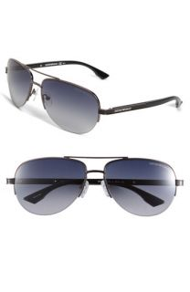 Emporio Armani Metal Aviator Sunglasses