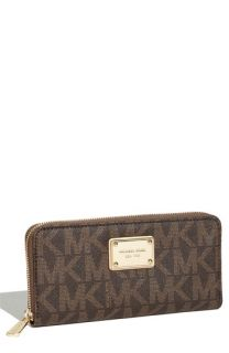 MICHAEL Michael Kors Signature Jet Set Zip Around Wallet