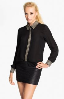 Haute Hippie Embellished Shirt