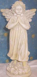 Praying Angel Latex Mold Concrete Plaster