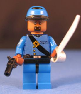 Lego® Brick Cust Civil War Union Infantry Sgt Major V2