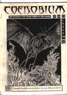 Clive Barker Fanzine Coenobium Hellraiser Rawhead Rex