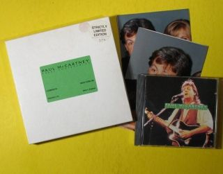 Paul McCartney Press Conferences CD Box UK 079 1000
