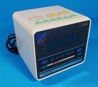 Design Am FM Radio LED Digital Alarm Clock 3634 Dream Machine