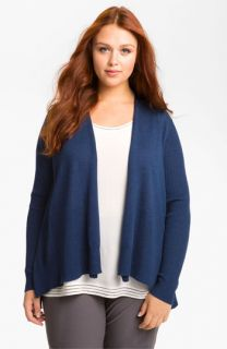 Eileen Fisher Merino Wool Cardigan (Plus)