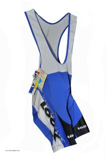 New Authentic Look Pro Team Mens Cycling Bib Shorts XXL 2XL Reg$140