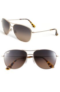 Maui Jim Cliff House   PolarizedPlus® Metal Aviator Sunglasses