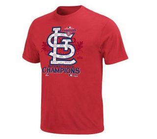 2011 MLB NLCS Champions St. Louis CardinalsLocker S/S T Shirt