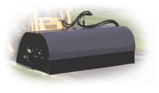 Box Broom Sweeper 60 Wide Skid Steer Attachment