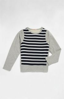 Marni Long Sleeved Crewneck Tee (Little Girls & Big Girls)