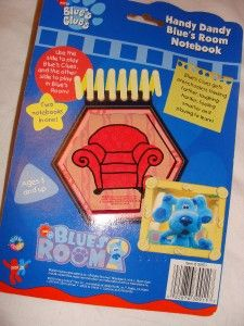 New Blues Clues Blues Room Handy Dandy Notebook Double Sided Thinking