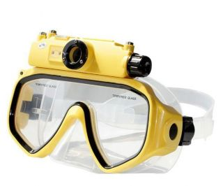 Mask Liquid Image 15M Underwater Digital Camera 5MP CMOS Sensor