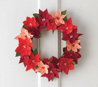Martha Stewart Crafts Halloween or Christmas Wreath Kit —
