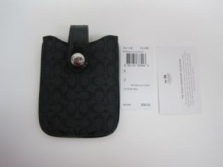 authentic coach f61128 cell phone case small electronic ipod iphone sv