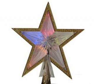 11 LED Color Changing Star Tree Topper by Sterling —