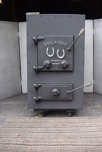 Model 28 3500 Add on Wood and Coal Burning FURNACE Burner Stove  WOW
