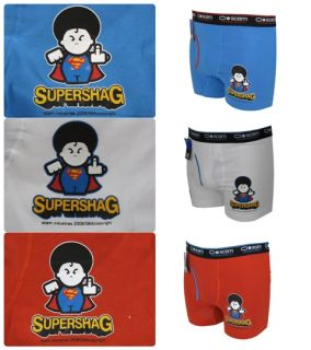 Mens Boxer Shorts Funny Rude Comedy Super Shag