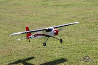 Red Devil 500 Class Brushless Powered RC Airplane 4 CH 2 4 GHz Radio