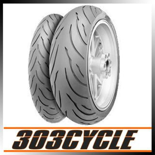 Continental Conti Motion Motorcycle Tire Set 07 08 Yamaha R1 120 190