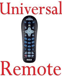 RCA Universal Remote Control for TV SAT CBL DVD RCR312W