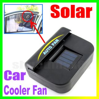 Solar Power Auto Car Cool Air Vent Cooler Fan S792