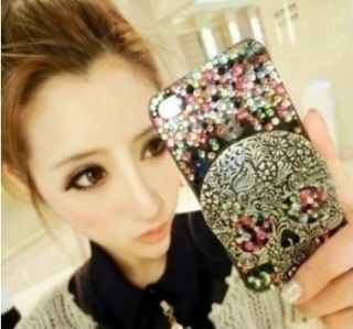 Cool Skull Bling Assorted Color for cell Phone iPhone 4 4s Case Cover
