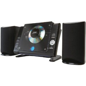 Coby CXCD380 Micro CD Player Stereo System with PLL AM/FM Tuner