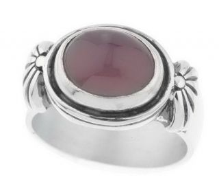 As IsSterling East/West Oval Gemstone Ring —