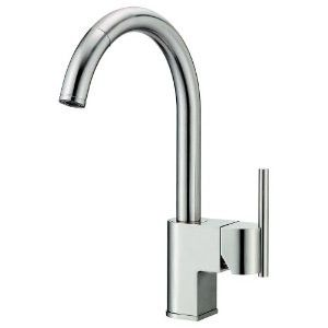 Danze Como D457144SS Single Handle Pull Down Kitchen Faucet Stainless