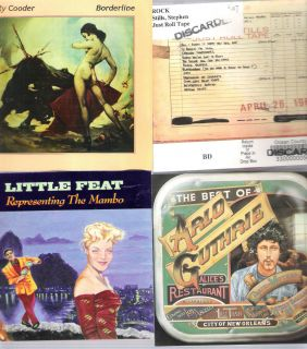 CLASSIC ROCK AMERICANA LOT RY COODER ARLO GUTHRIE LITTLE FEAT STILLS
