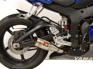 Yamaha YZFR6 & 2006 2009 YZF R6S Competition Werkes GP Slip On Exhaust