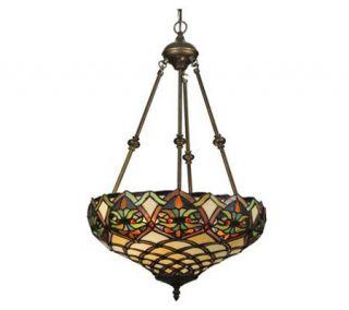 Tiffany Style 16 Franco Inverted Pendant Lamp —
