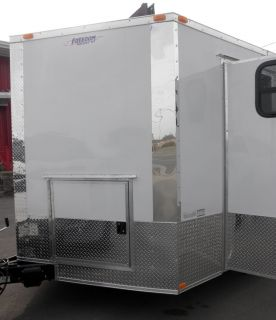 New 8 5 x 20 Concession Competition Smoker Trailer with Smoker Deck