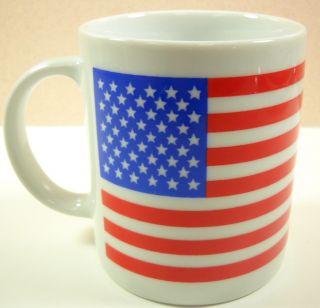 Stars Stripes American USA Flag Patriotic Coffee Mug
