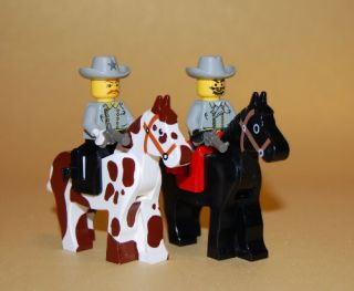 Custom Lego Civil War Confederate Soldiers Minifigs