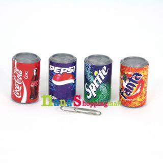 Coke Pepsi Sprite Fanta Can Miniature Refrigerator Magnet