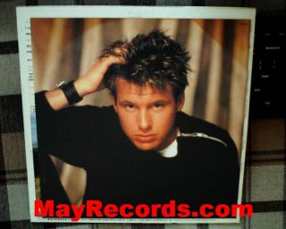 Corey Hart I CanT Help Falling in Love with You Japan Promo LP w OBI