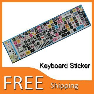 Notebook Desktop Laptop Keyboard Stickers